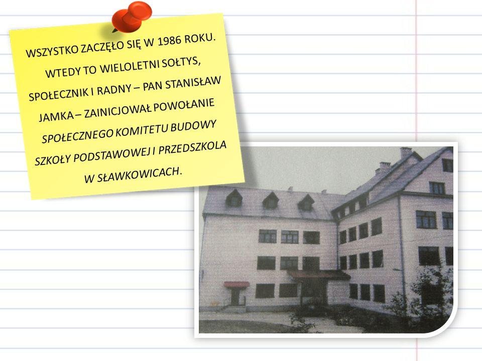 WSZYSTKO ZACZĘŁO SIĘ W 1986 ROKU.