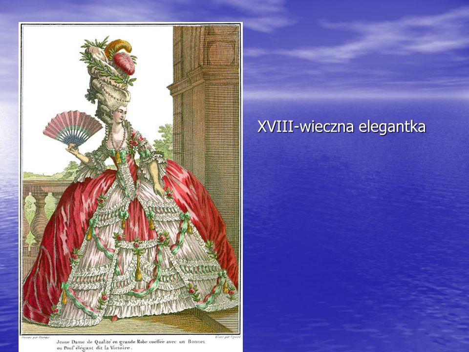 XVIII-wieczna elegantka