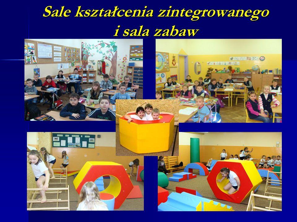 Sale kształcenia zintegrowanego i sala zabaw