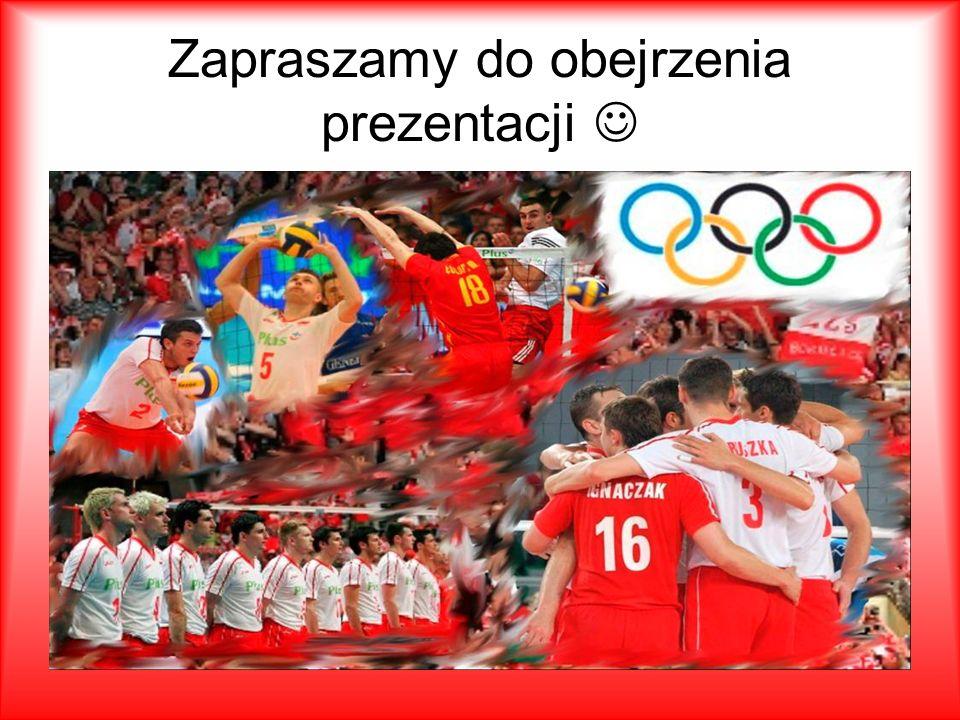 Menu Skład reprezentacji Wiedza o siatkówce Sukcesy Polskich siatkarzy Co sądzą inni o Polskich kibicach.