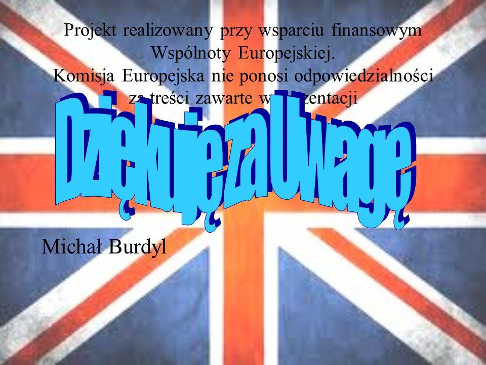 Projekt realizowany przy wsparciu finansowym Wspólnoty Europejskiej.