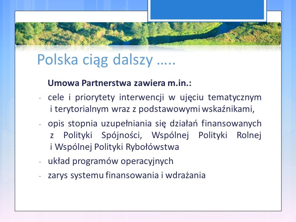 Polska ciąg dalszy …..