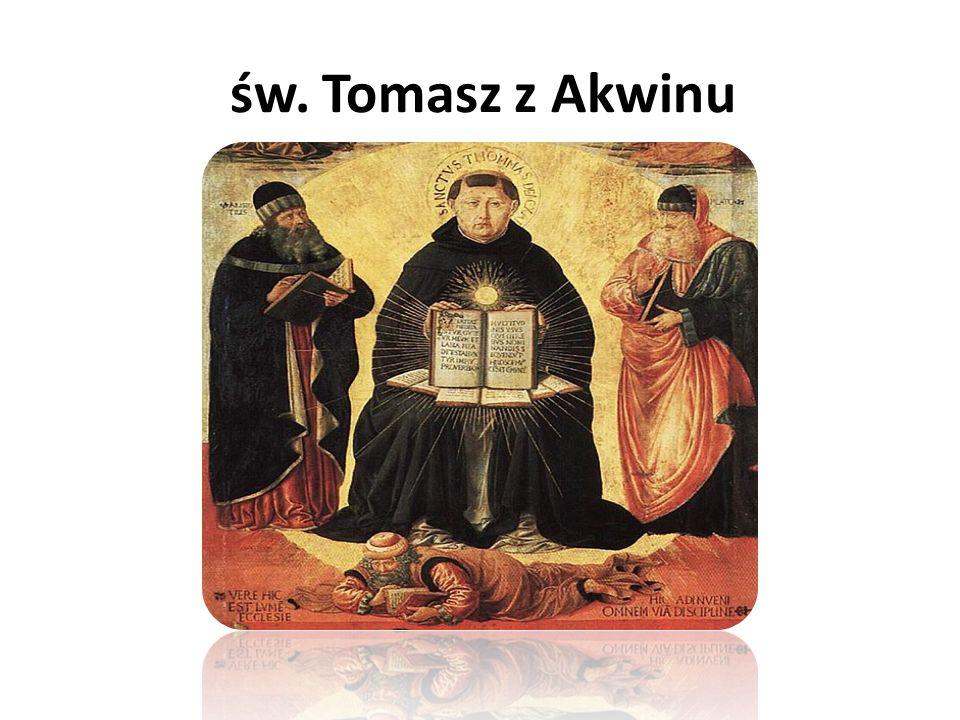 Tomasz z Akwinu ur.1225, zm.