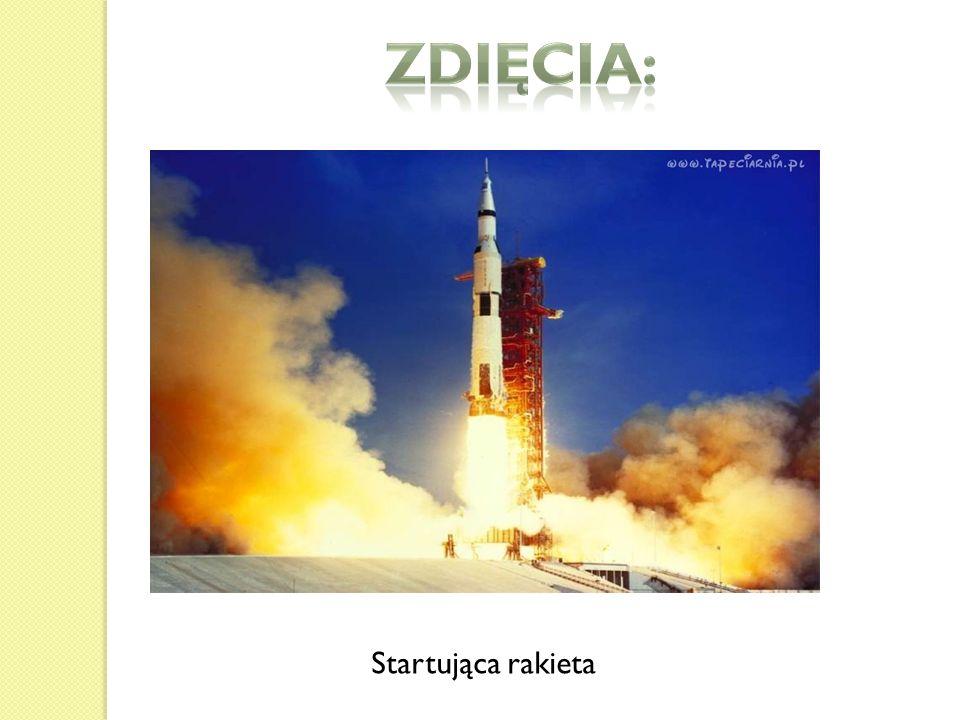 Startująca rakieta