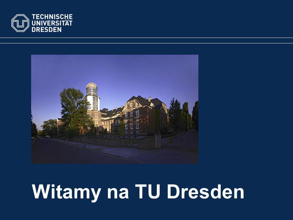 Witamy na TU Dresden