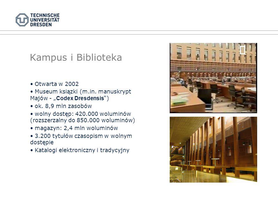 Kampus i Biblioteka Otwarta w 2002 Museum ksiązki (m.in.