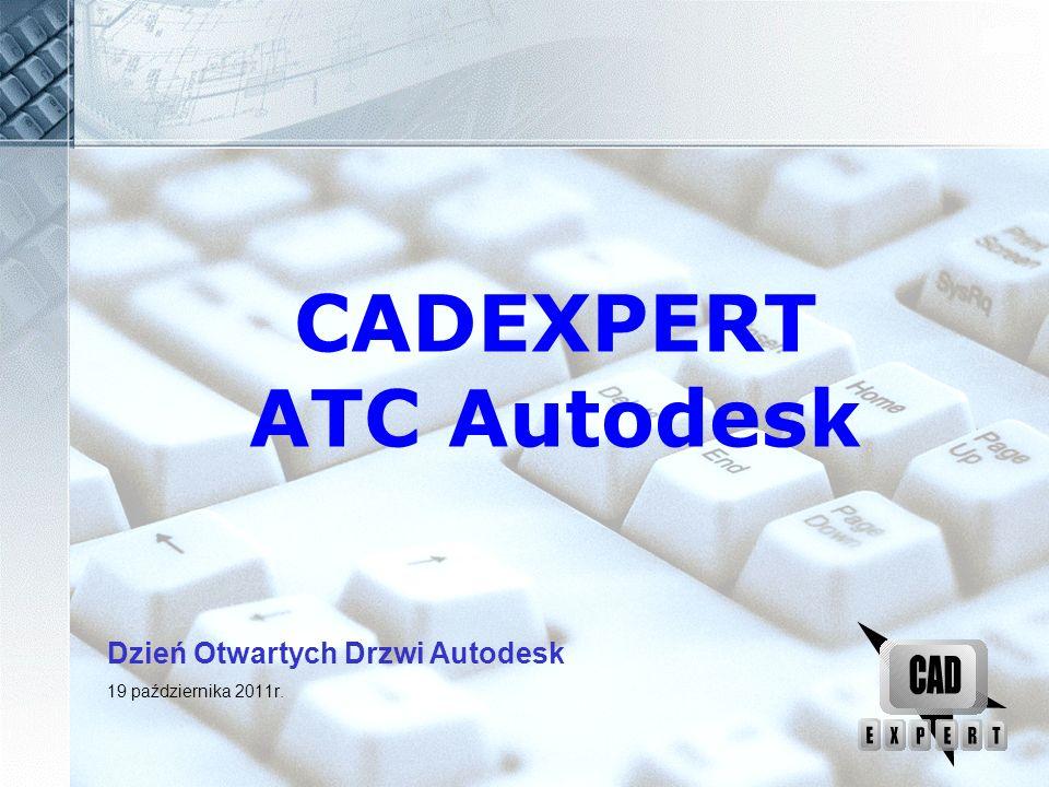 CADExpert – Centrum szkoleniowe i certyfikacyjne aCADemia inżyniera Pierwsze ATC (Autoryzowane Centrum Szkoleniowe) w Polsce Ponad 20 lat ciągłej autoryzacji Od 1992 tłumaczymy oprogramowanie firmy Autodesk Jedyne w województwie łódzkim Centrum Certyfikacji ACC Ponad 80 000 przeszkolonych osób Liczne referencje na naszej stronie www.cadexpert.com.pl Jesteśmy członkiem założycielskim Prowadzimy projekty dofinansowane przez