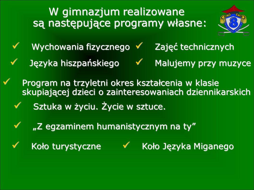 W naszym gimnazjum od 2001 roku realizowana jest wymiana polsko-niemiecka.