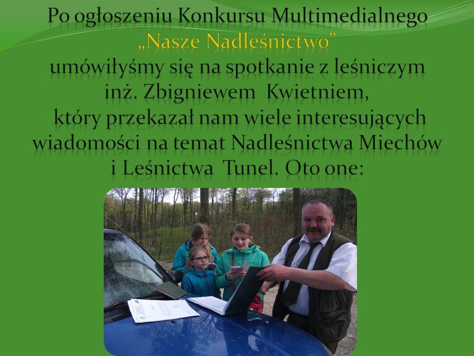 Organizacja: Nadleśnictwo Miechów leży w Małopolsce podlega Regionalnej Dyrekcji Lasów Państwowych w Krakowie.