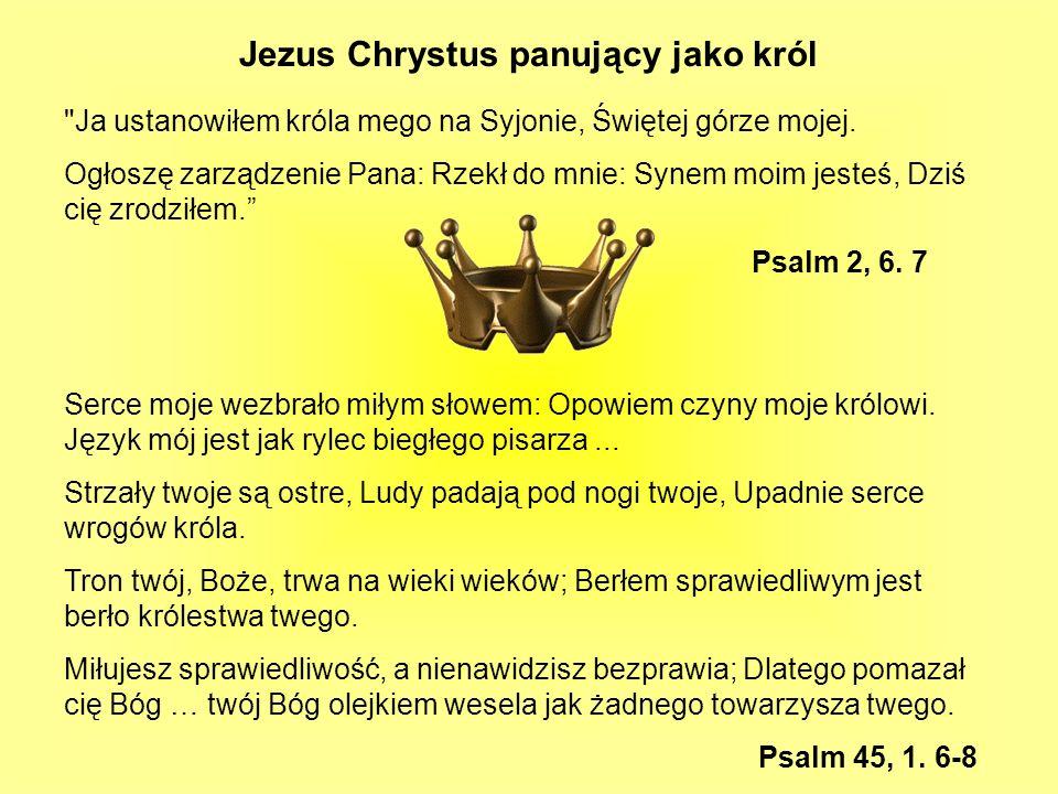 Jezus Chrystus panujący jako król