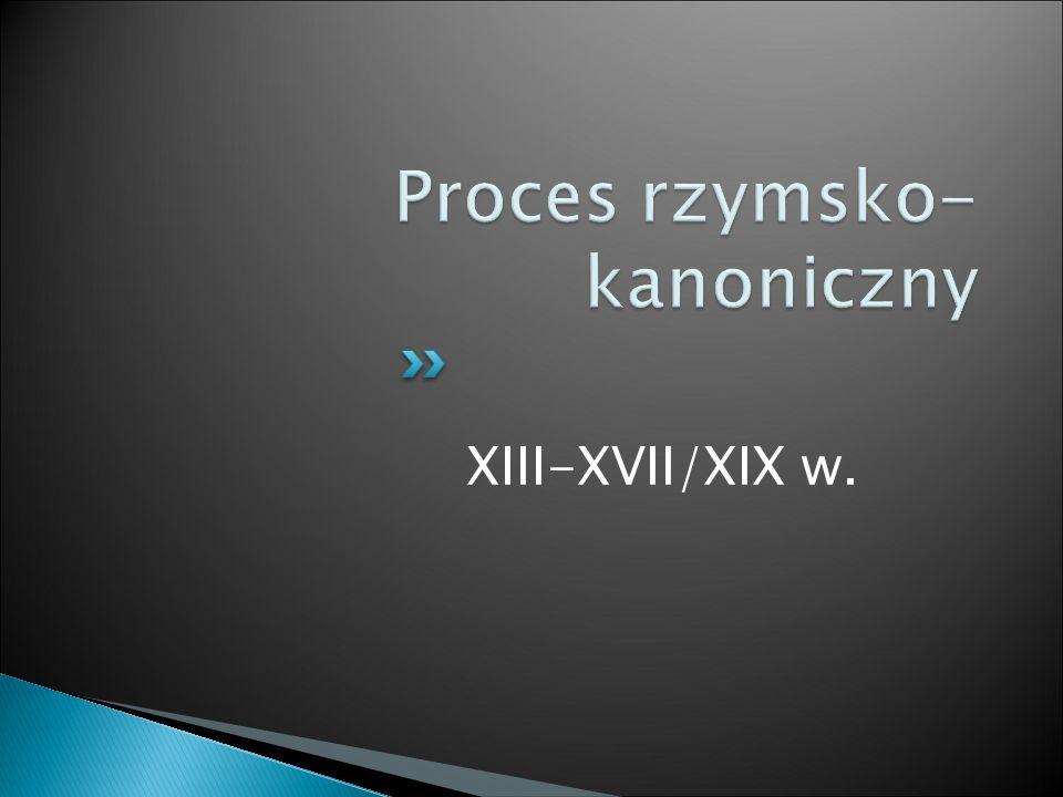 XIII-XVII/XIX w.