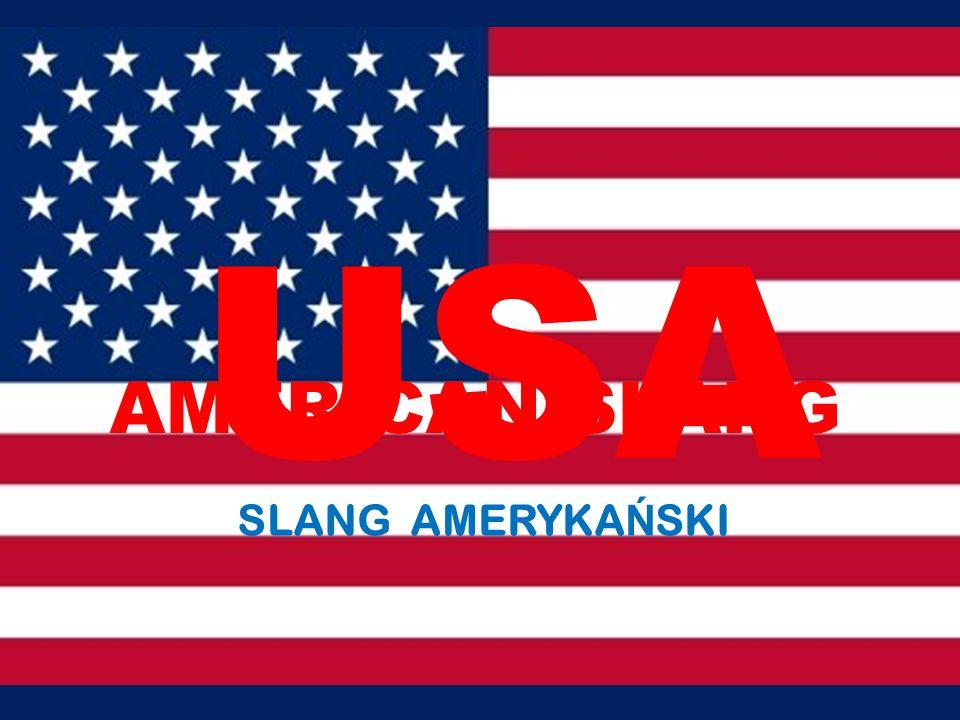 SLANG AMERYKA Ń SKI AMERICAN SLANG USA