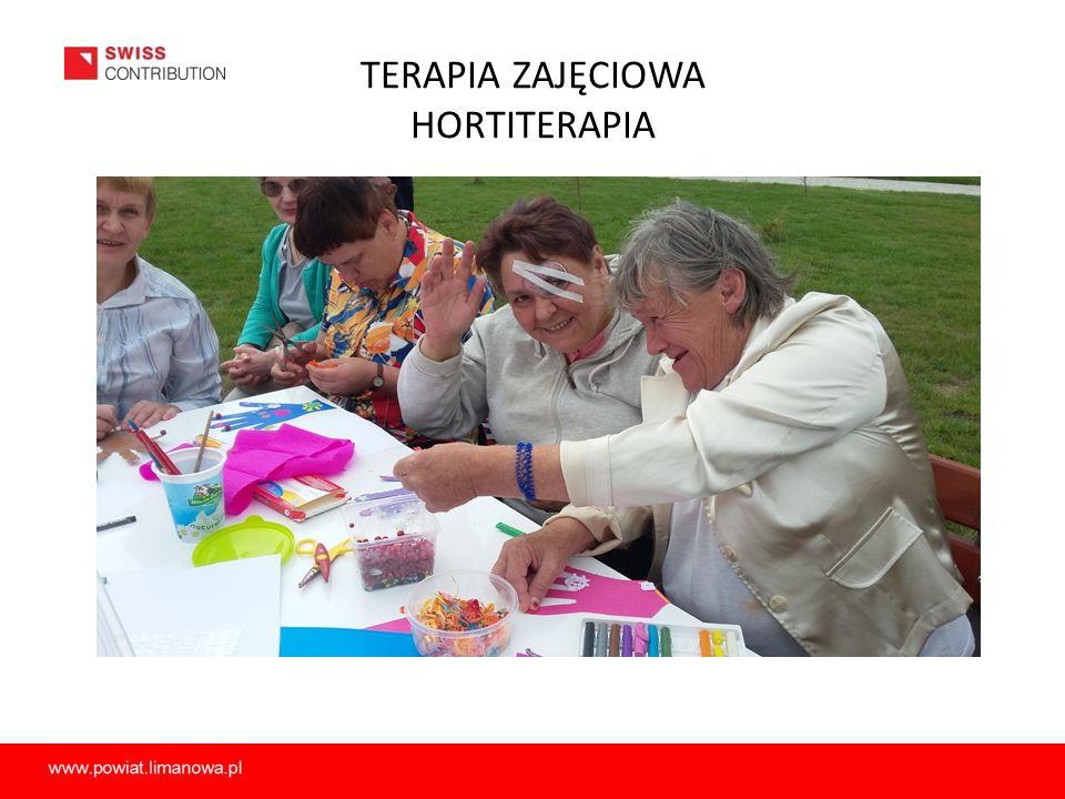 TERAPIA ZAJĘCIOWA HORTITERAPIA
