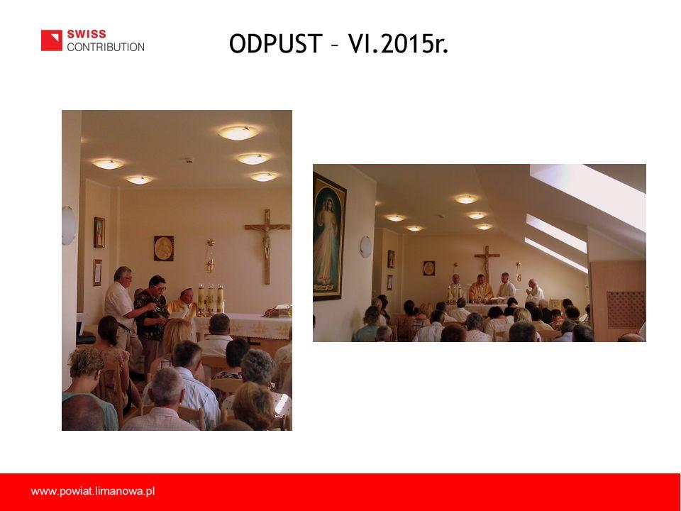 ODPUST – VI.2015r.