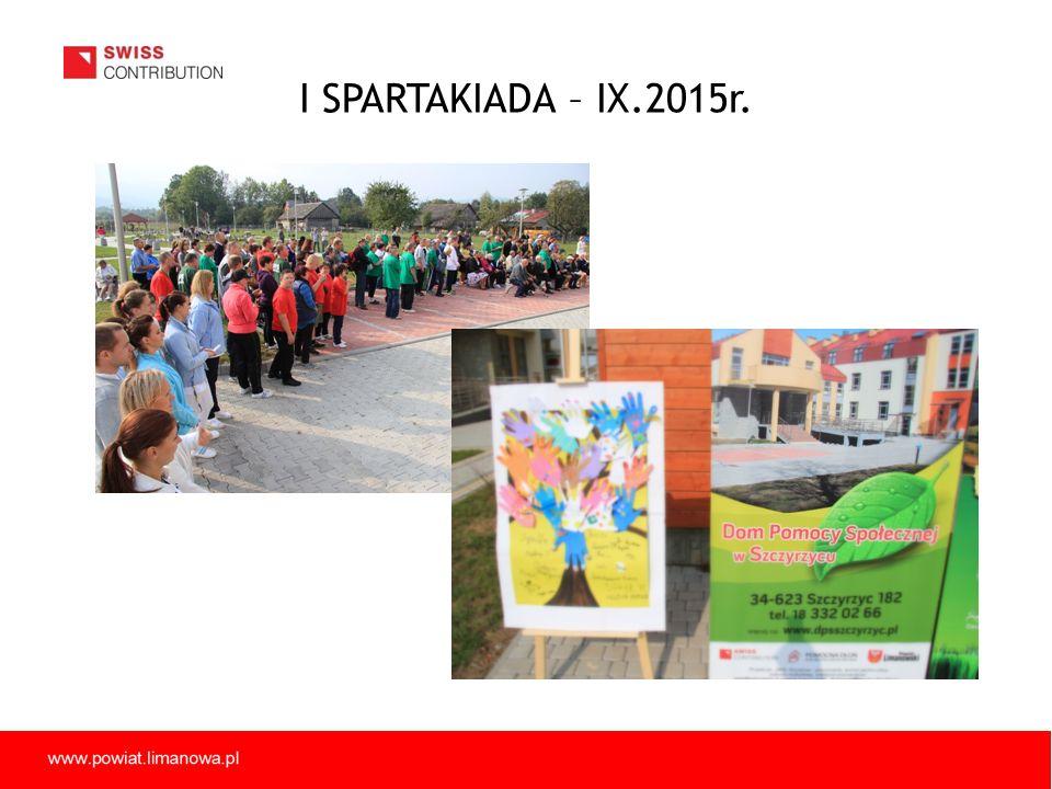 I SPARTAKIADA – IX.2015r.