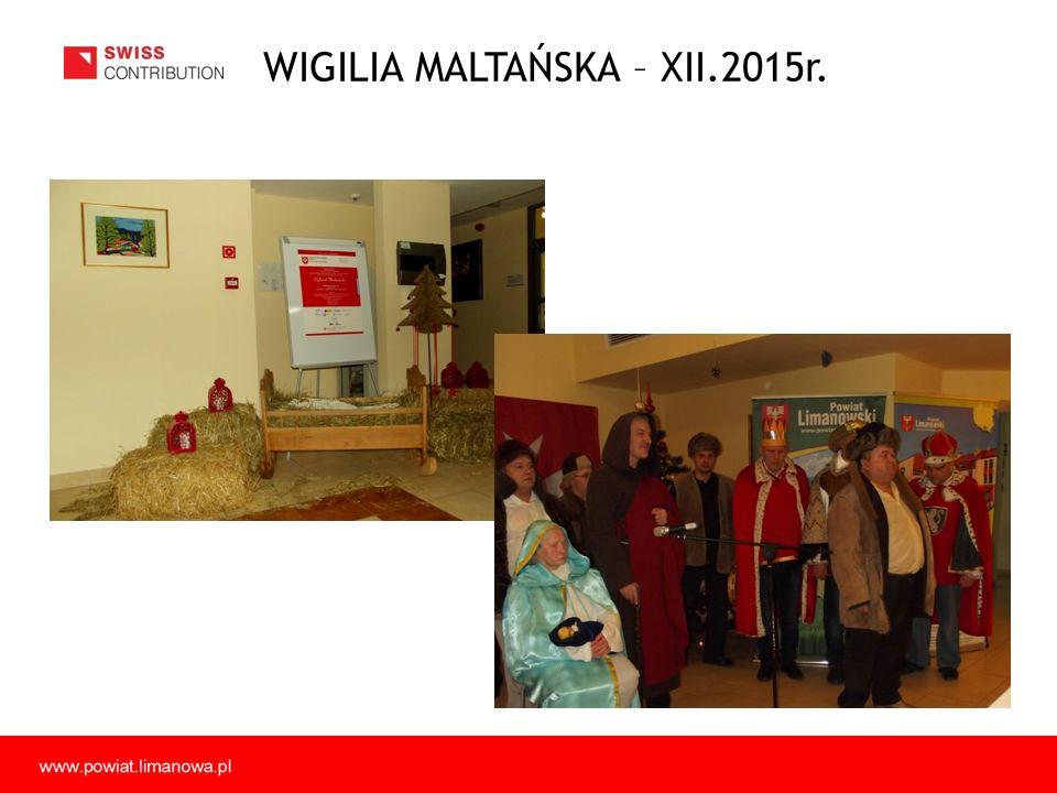 WIGILIA MALTAŃSKA – XII.2015r.