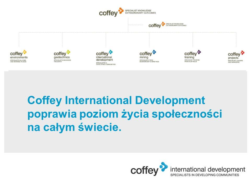 Coffey International Development poprawia poziom życia społeczności na całym świecie.