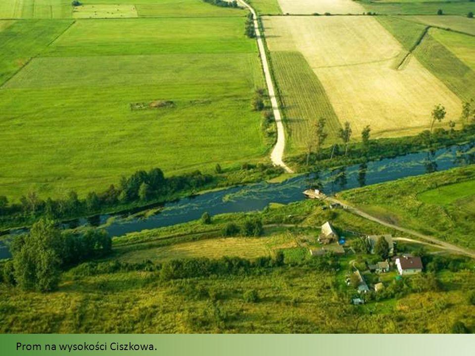 Pianówka. Wieś położona jest u podnóża pięknych wzgórz morenowych z zamkiem w Goraju.