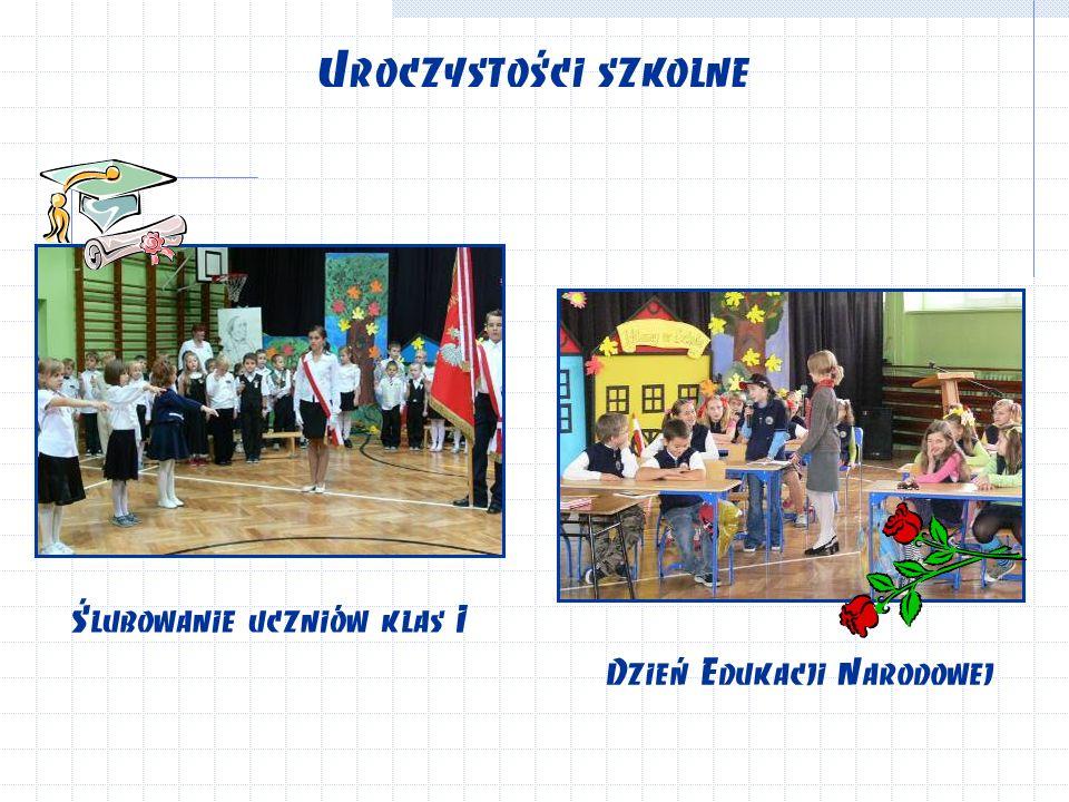 Uroczystości szkolne Dzień Edukacji Narodowej Ślubowanie uczniów klas I