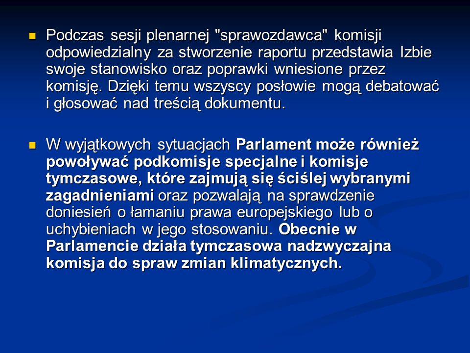 Delegacje Parlamentu Europejskiego podtrzymują relacje i wymieniają informacje z parlamentami w krajach nie należących do UE.