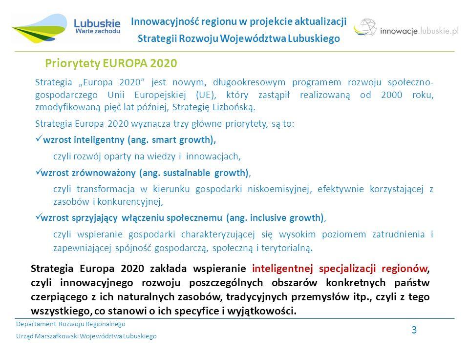 Strategia Rozwoju Województwa Lubuskiego (SRWL) 1.Strategia Rozwoju Województwa Lubuskiego - przyjęta Uchwałą Sejmiku Województwa Lubuskiego w dniu 6 marca 2000 r.