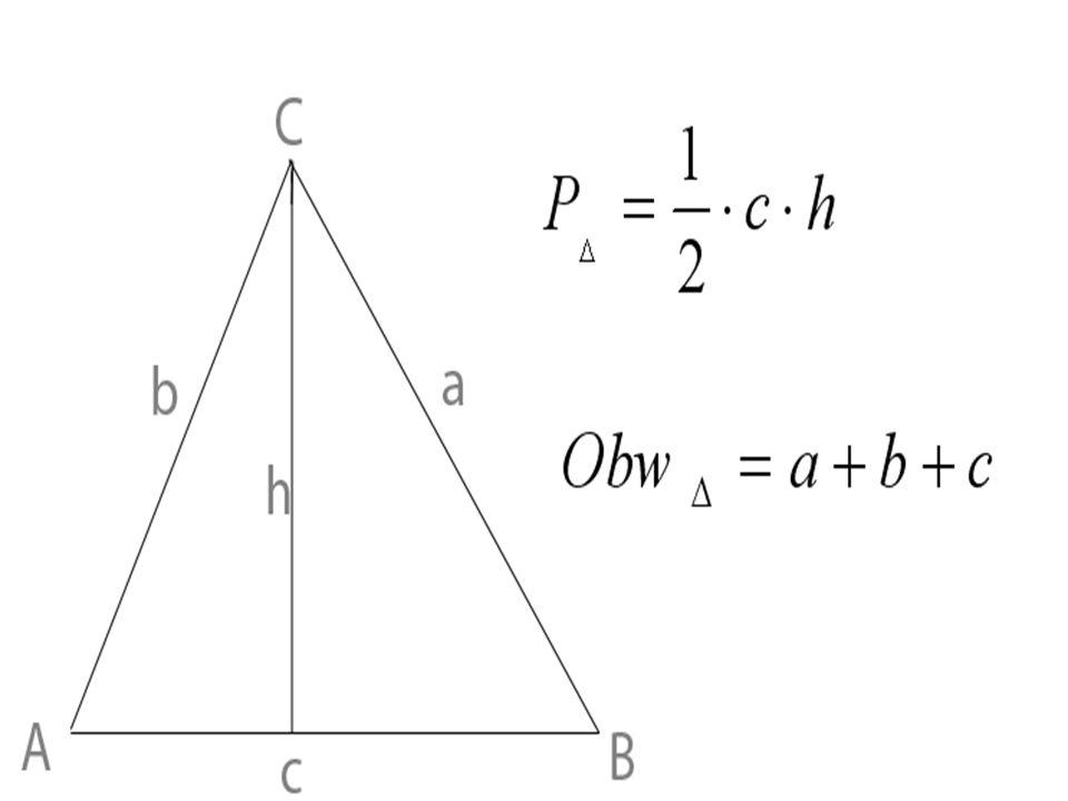 Trójkąty dzielimy ze względu na długości ich boków oraz ze względu na miary kątów.