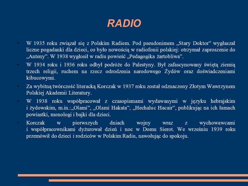 RADIO W 1935 roku związał się z Polskim Radiem.