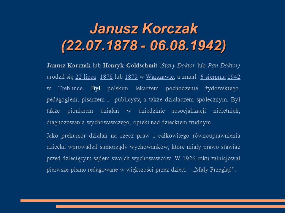 DZIECIŃSTWO I MŁODOŚĆ Pochodził z rodziny Goldszmitów żyjących od wielu pokoleń w Polsce, która była związana z ruchem oświatowym - Haskalą.