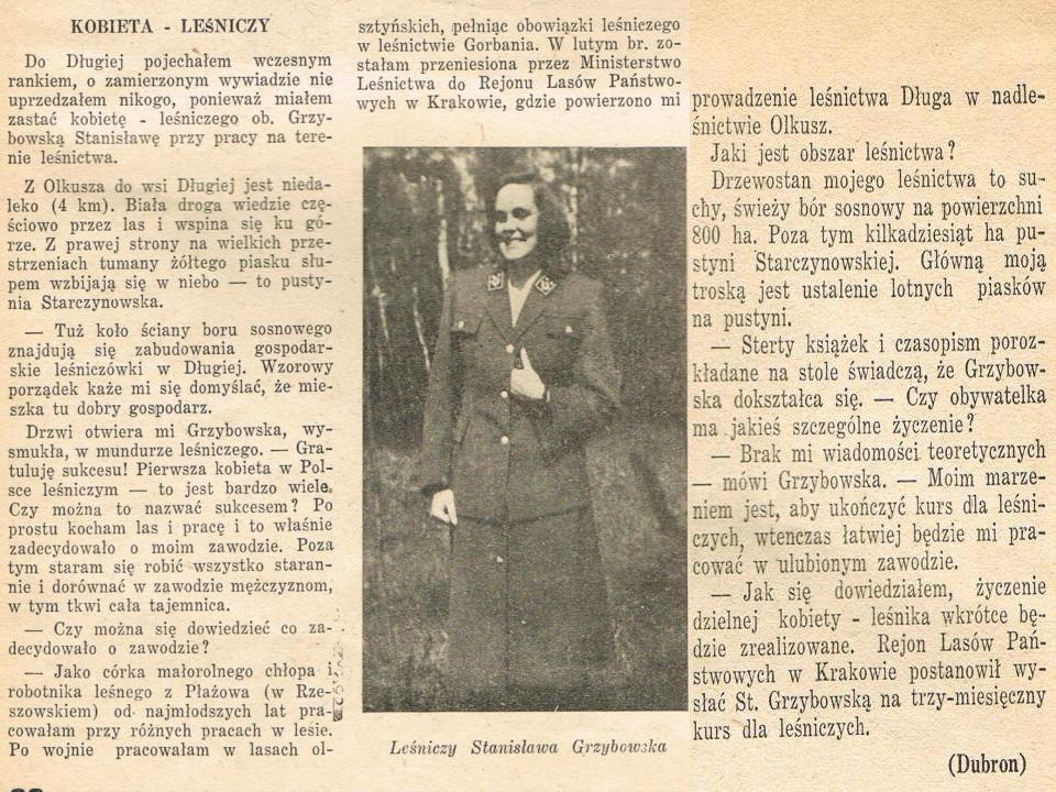 Nadleśnictwo Olkusz w obecnym kształcie powstało w 1979 r.