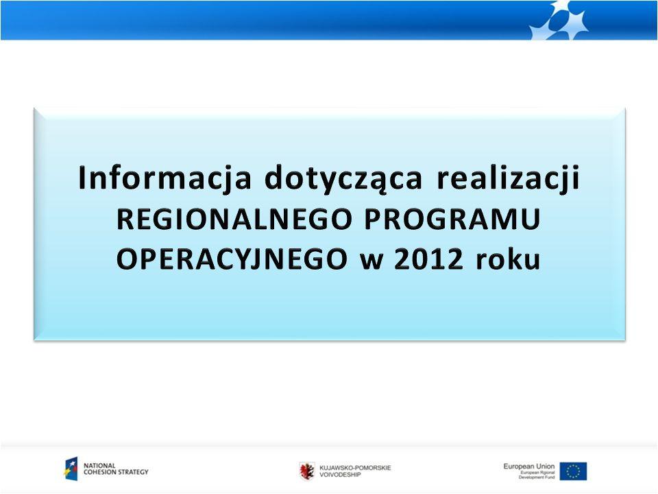 Ponadto w 2012 r.odbyło się: Posiedzenie Komitetu Monitorującego z zakresu pomocy publicznej.