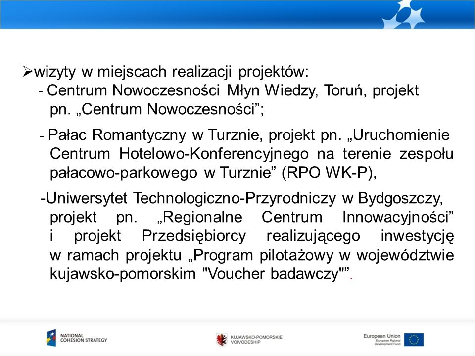 Oś I Rozwój infrastruktury technicznej Działanie 1.1 Infrastruktura drogowa zakontraktowane środki w ramach kategorii 23 Drogi regionalne/ lokalne w stosunku do alokacji ZAANGAŻOWANIE FINANSOWEZAANGAŻOWANIE RZECZOWE Długość wybudowanych dróg gminnych Długość wybudowanych dróg powiatowych km 122% w mln euro 182 008 157 euro 176 995 302 euro 97%