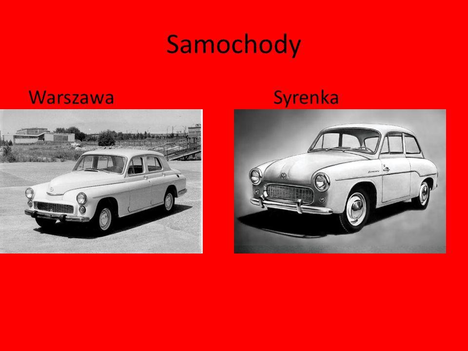 Samochody Warszawa Syrenka