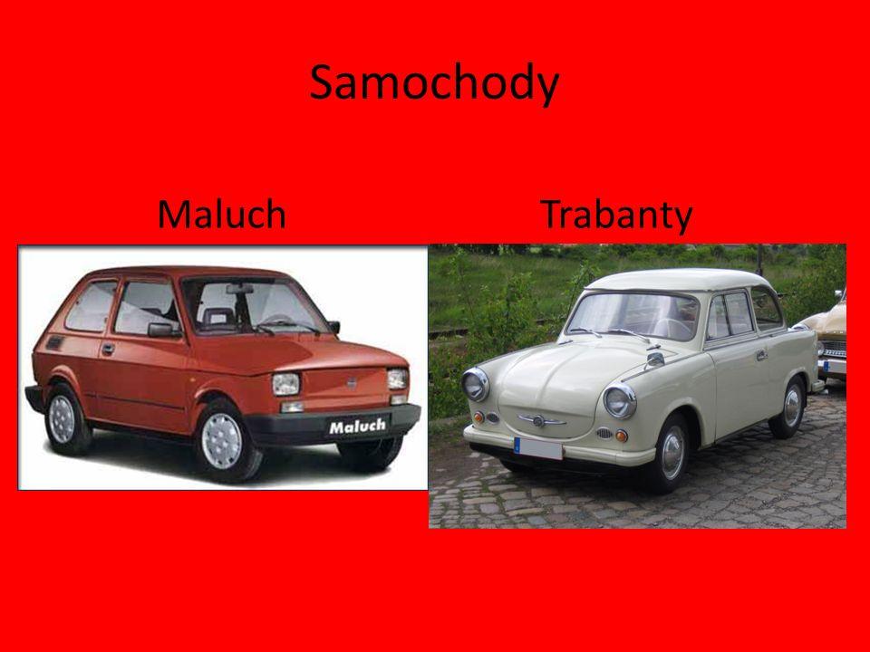 Samochody TrabantyMaluch