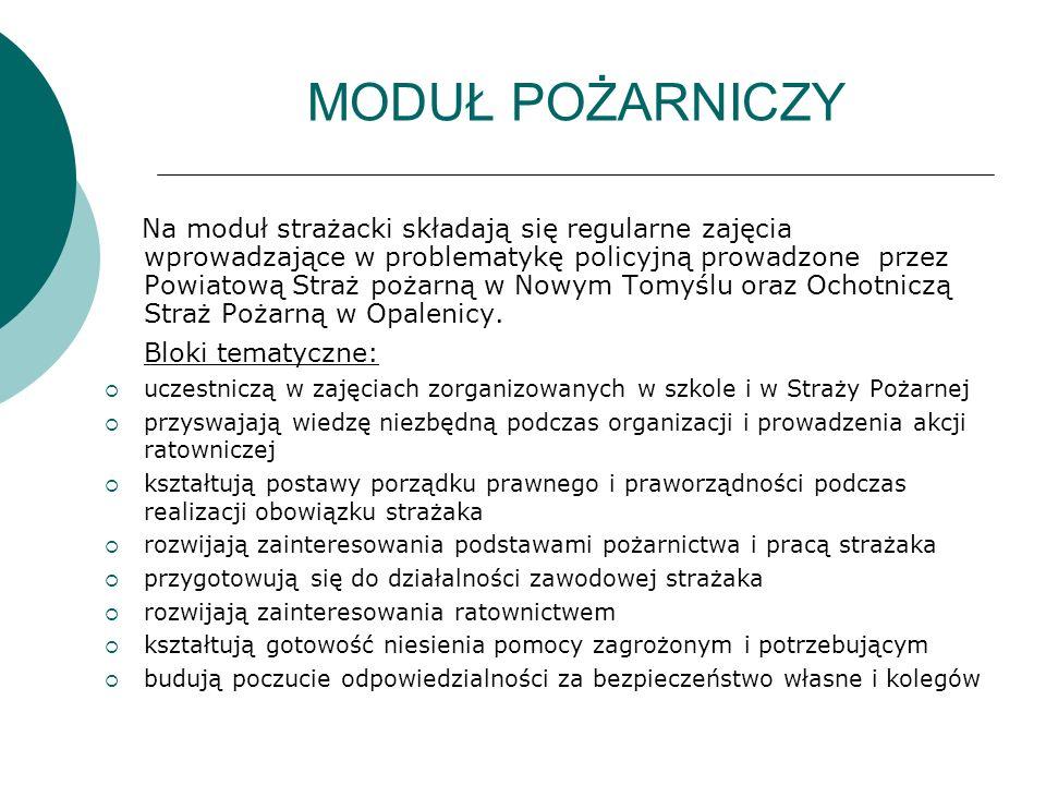 MODUŁ BEZPIECZEŃSTWA PUBLICZNEGO  Na moduł składają się zajęcia wprowadzające w problematykę bezpieczeństwa publicznego prowadzone.