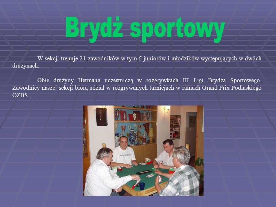 Zawodnicy Hetmana pod wodzą trenera Stanisława Wąsowskiego w pięknym stylu zdobyli tytuł drużynowego Mistrza Polski na rok 1992.