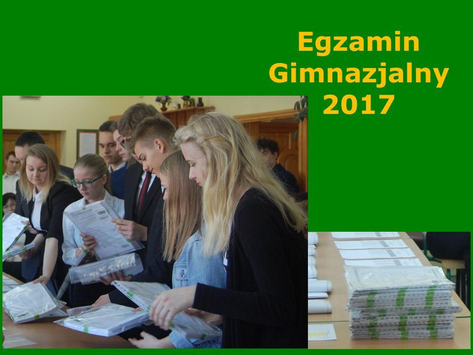 Komunikowanie wyników egzaminu gimnazjalnego Liczba punktów za poszczególne części jest sprawą otwartą.