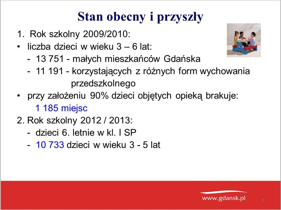6 Liczba dzieci w roku szkolnym 2010/2011