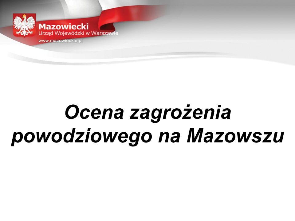 Ocena zagrożenia powodziowego na Mazowszu