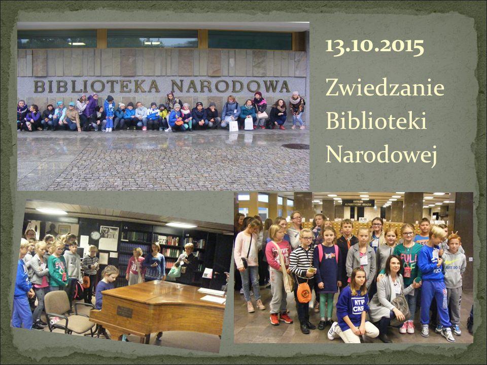 Zwiedzanie Biblioteki Narodowej