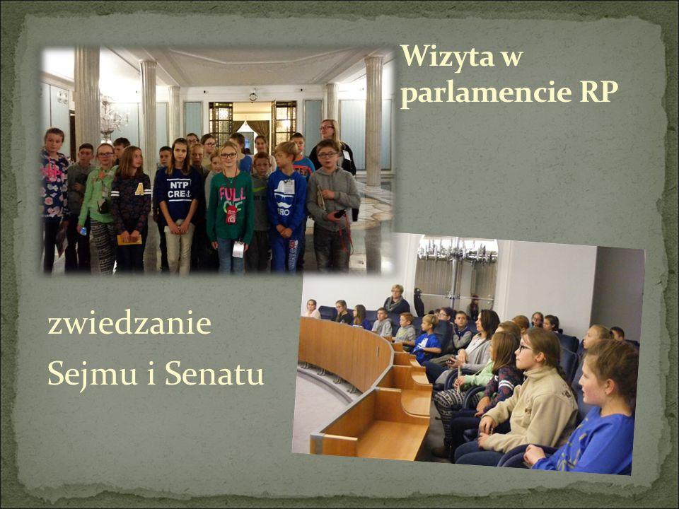 zwiedzanie Sejmu i Senatu