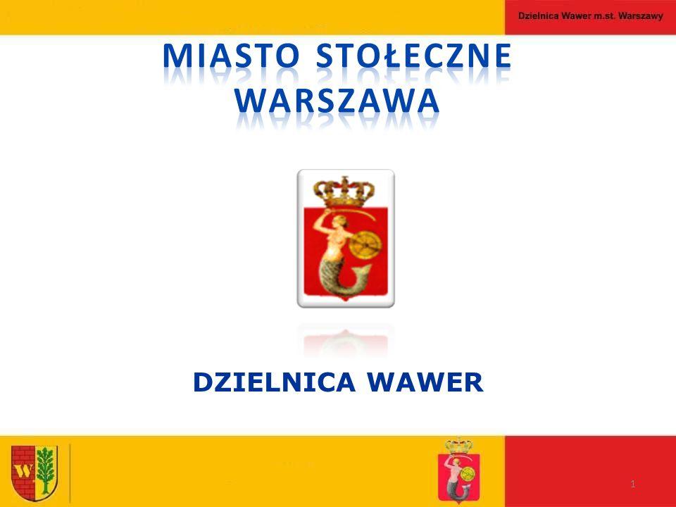 1 DZIELNICA WAWER