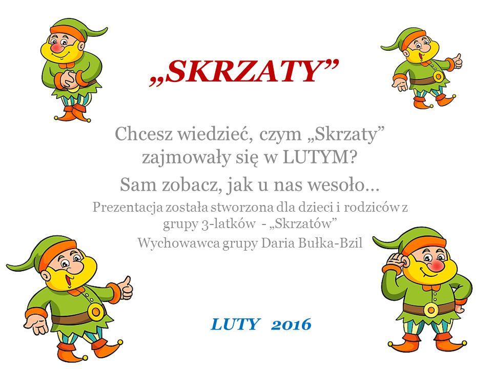 SKRZATY – Dzień Kolorowych Czapek 19.02.2016r.Były już kolorowe skarpety….