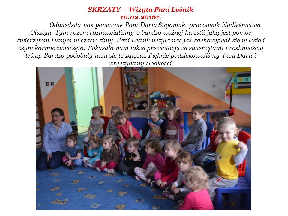 SKRZATY – Wizyta Pani Leśnik 10.02.2016r.