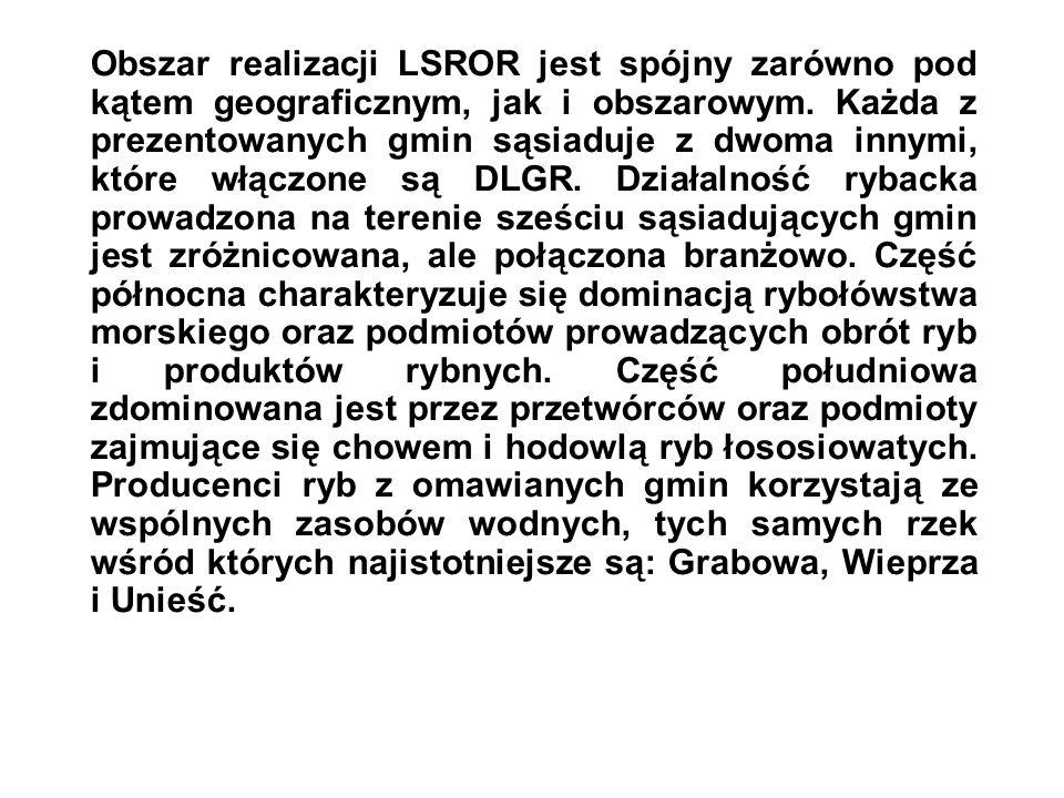 Obszar realizacji LSROR jest spójny zarówno pod kątem geograficznym, jak i obszarowym.