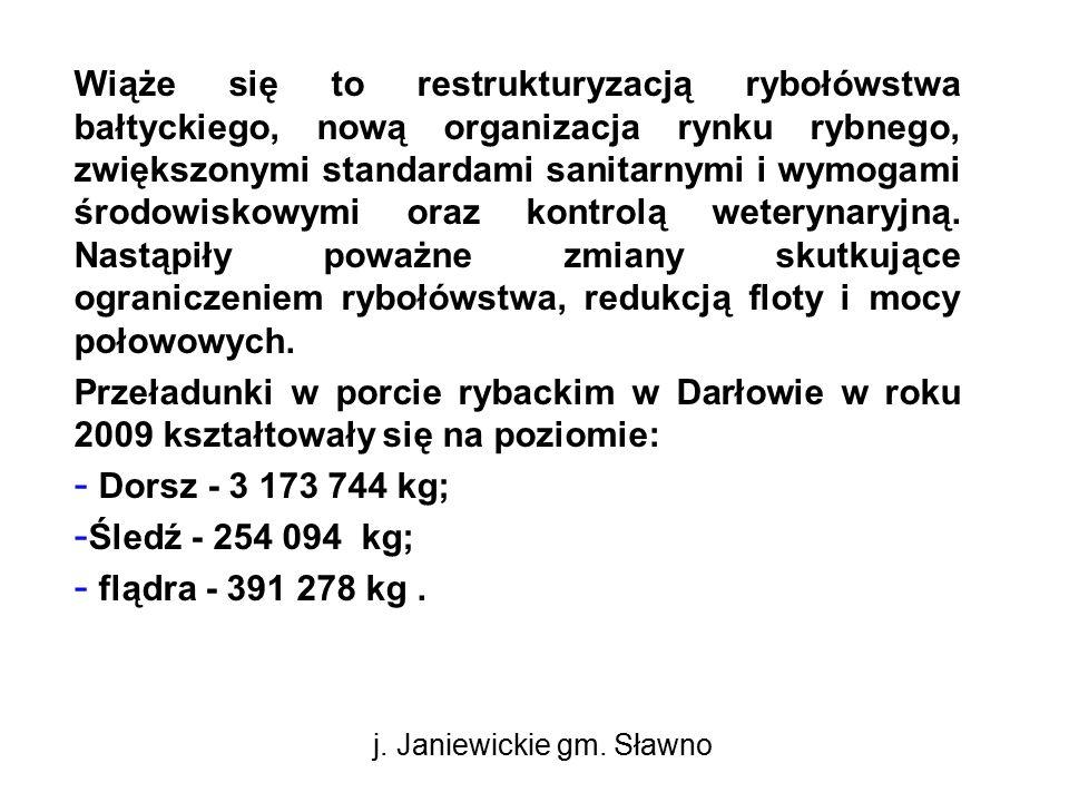 Wiąże się to restrukturyzacją rybołówstwa bałtyckiego, nową organizacja rynku rybnego, zwiększonymi standardami sanitarnymi i wymogami środowiskowymi oraz kontrolą weterynaryjną.