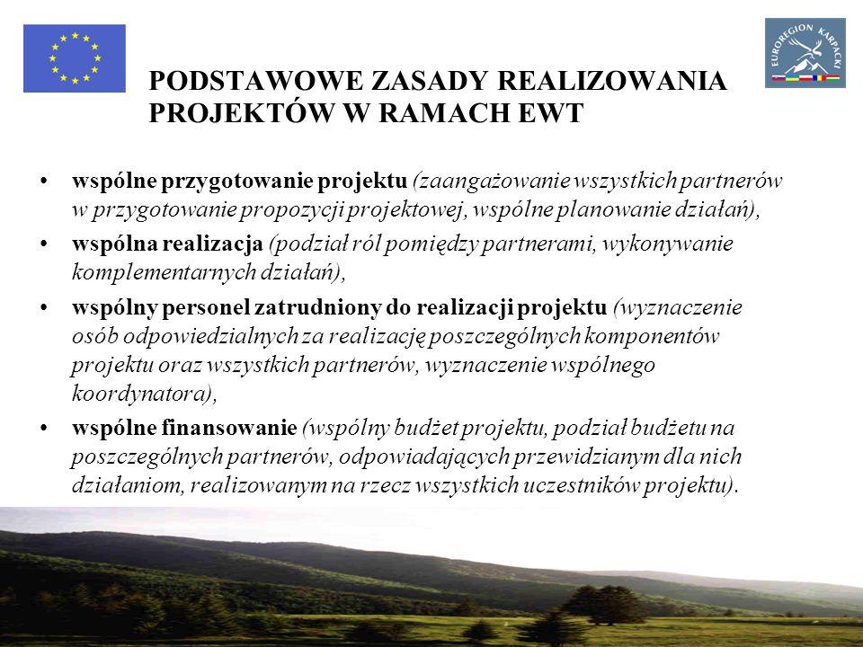10 Program operacyjny Współpracy Transgranicznej Rzeczpospolita Polska - Republika Słowacka 2007-2013 Głównym cel Programu – wzmocnienie opartej na partnerstwie współpracy polsko-słowackiej, mającej na celu trwały rozwój obszaru przygranicznego.