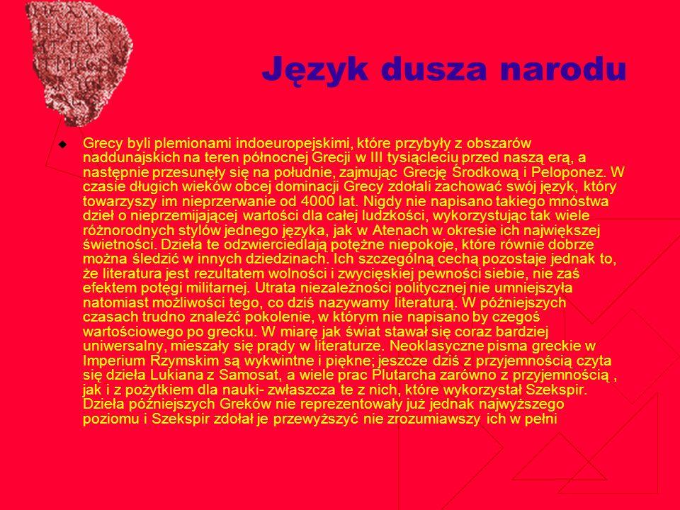 Alfabet grecki Alfabet grecki – powstały ok.IX w.
