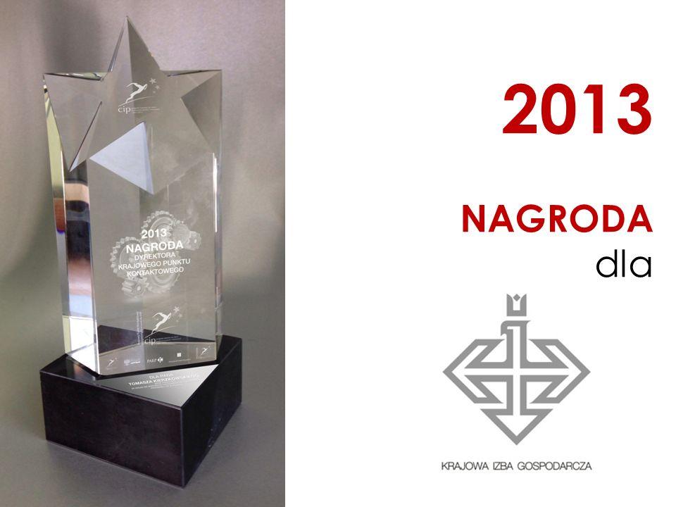 2013 NAGRODA dla