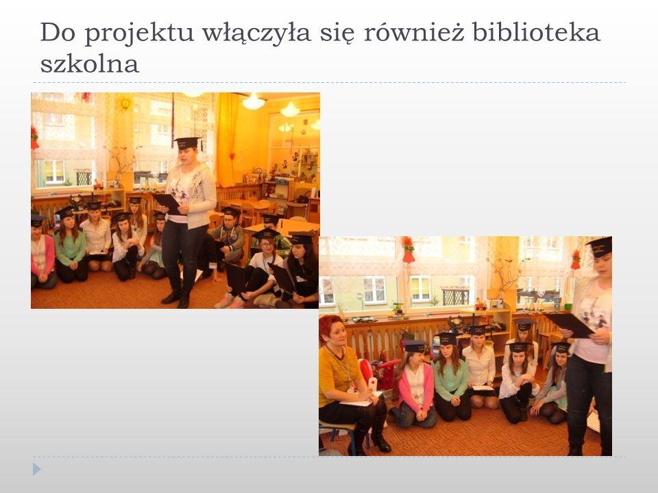Do projektu włączyła się również biblioteka szkolna