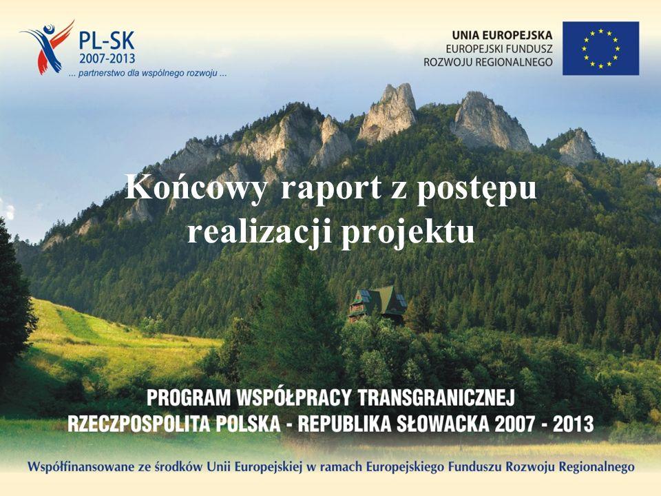 Końcowy raport z postępu realizacji projektu